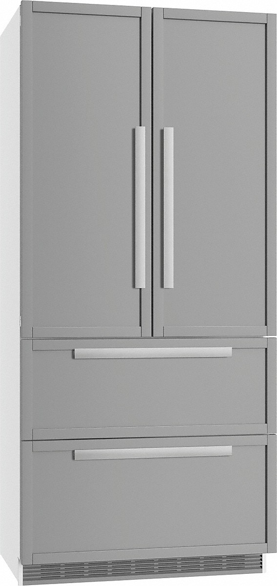 Miele maximum convenience thanks to generous large capacity and ice maker.