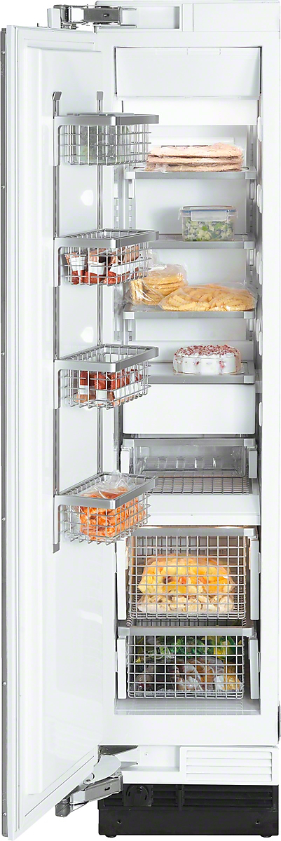 MasterCool  freezer with maximum storage space in the smallest space for optimum freezing.