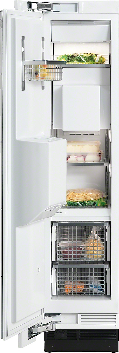 MasterCool  freezer with individual water and ice cube supply thanks to integrated IceMaker.