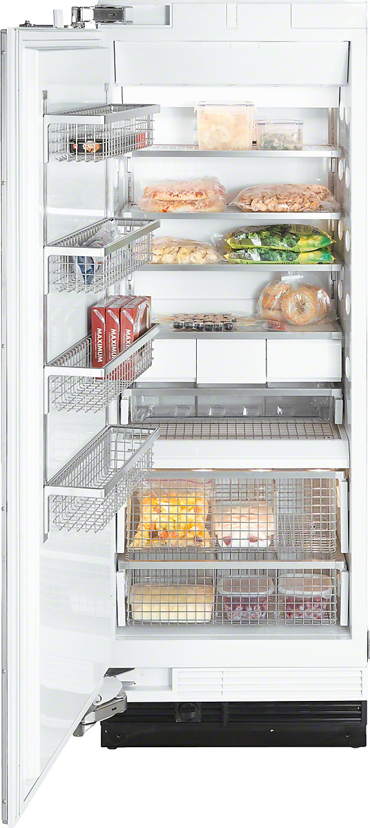MasterCool freezer with high-quality features and maximum storage space for increased convenience