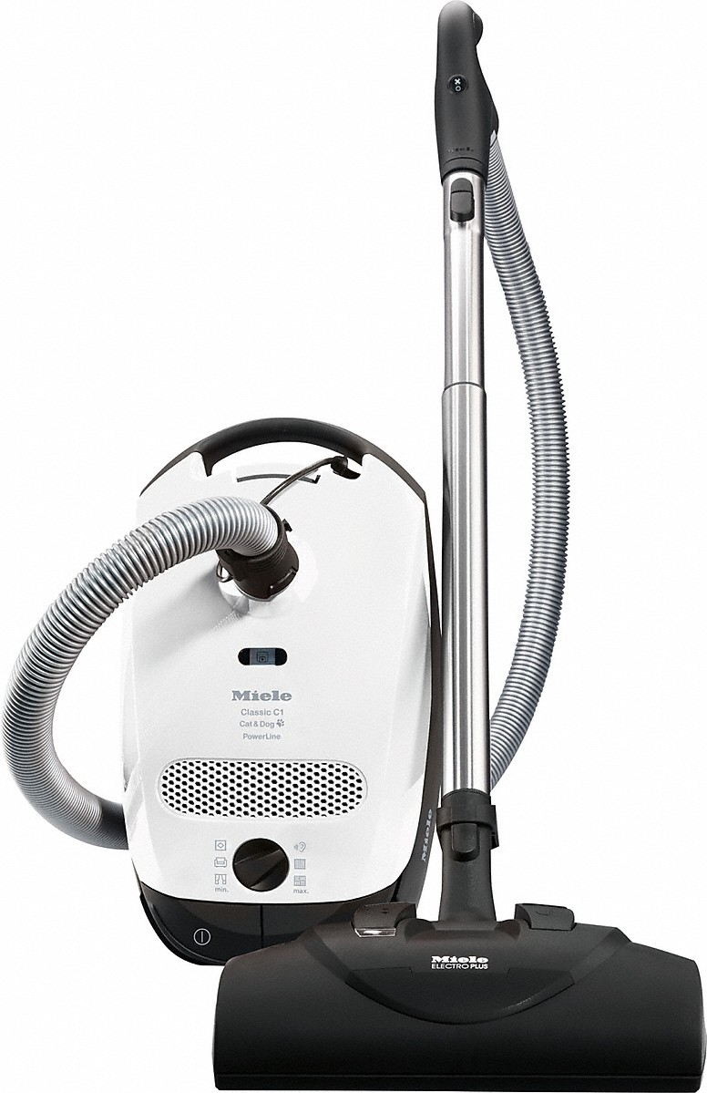 canister vacuum cleaners with electrobrush for thorough cleaning of  heavy-duty carpeting. Miele