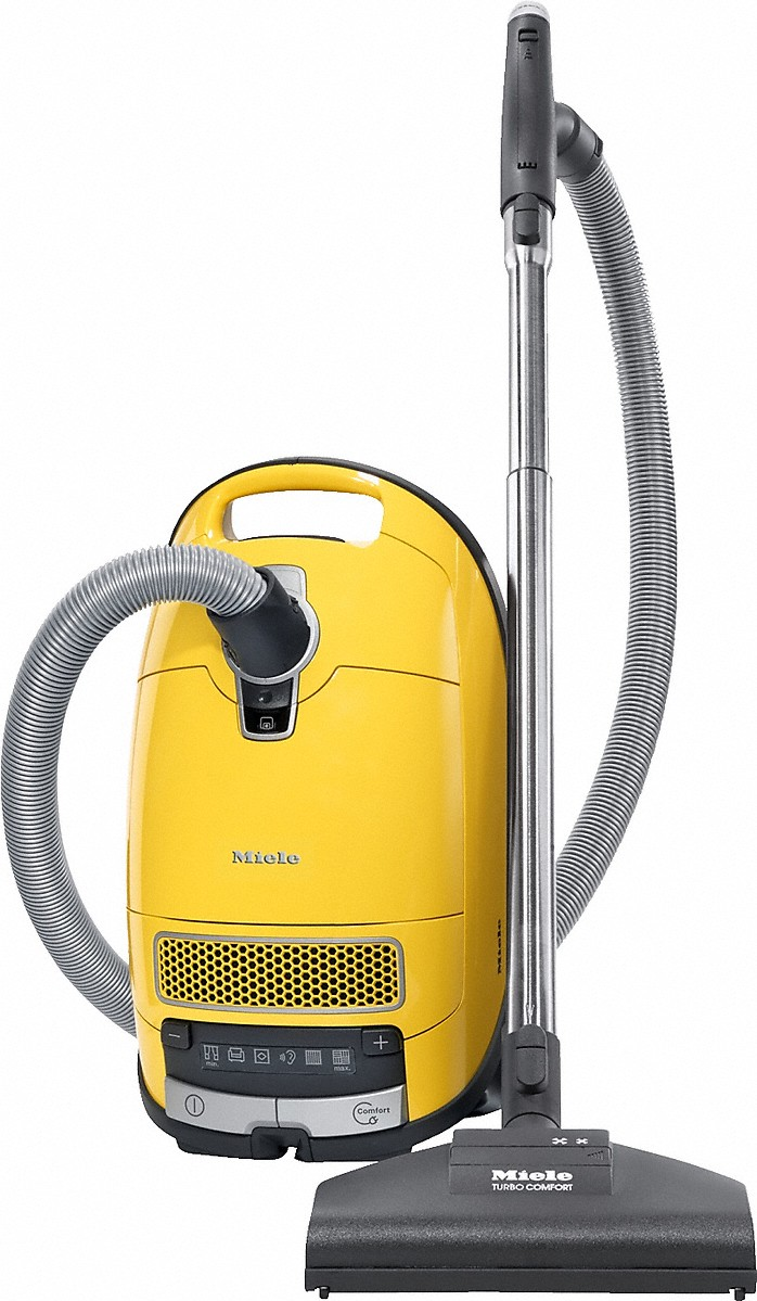 Miele canister vacuum cleaners with comprehensive accessories for nearly every cleaning challenge.