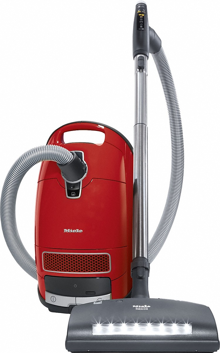 canister vacuum cleaners with handle controls and electrobrush for the greatest demands