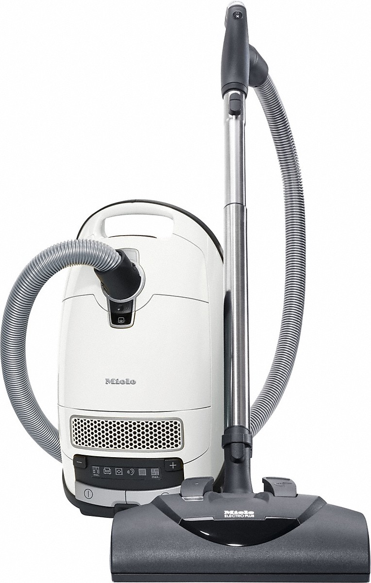 Miele canister vacuum cleaners With turbobrush and odor filter; ideal for pet lovers.