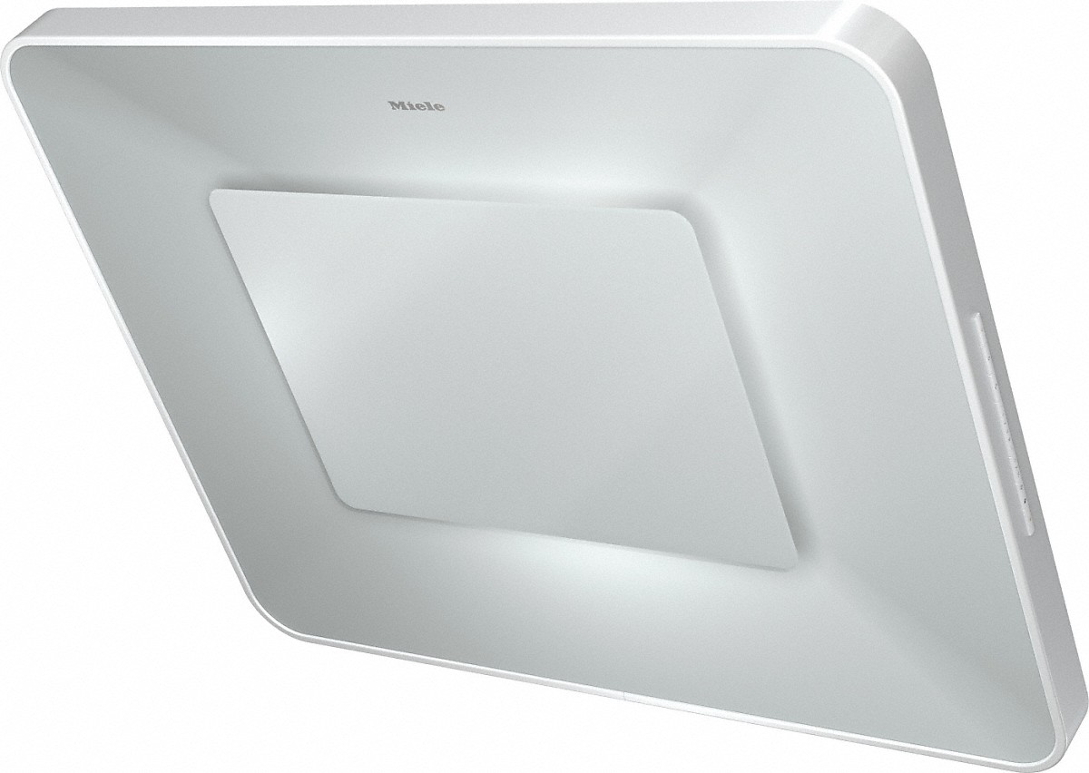 Wall ventilation hood with dimmable ambient lighting for a unique lighting mood in your kitchen