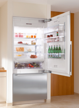 "Miele   36"" Refrigerator-Freezer (Bottom Mount) (Prefinished, left-hinge)"