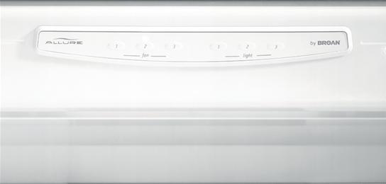 "Broan 42"", White-on-White, Under Cabinet Range Hood, 430 CFM"