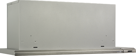 "Broan 36"" 300 CFM Brushed Aluminum Slide Out Range Hood"