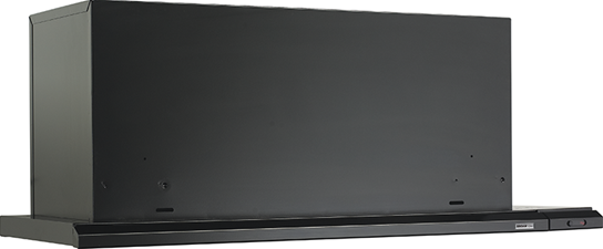 "Broan 36"" 300 CFM Black Slide Out Range Hood"
