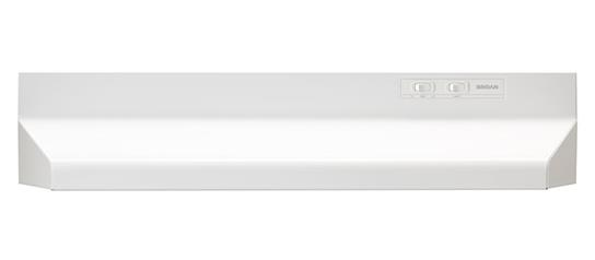 "Model: 402101 | Broan 21"", White, Under Cabinet Hood, 160 CFM"