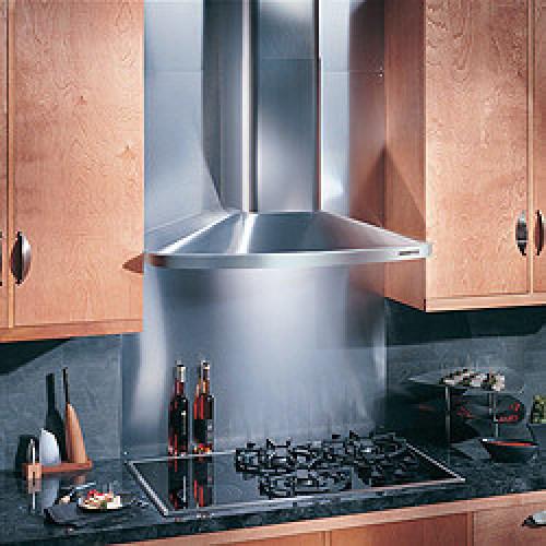 "Model: RM523604   Broan 36"" Stainless Steel Chimney Hood, 370 CFM Internal Blower"
