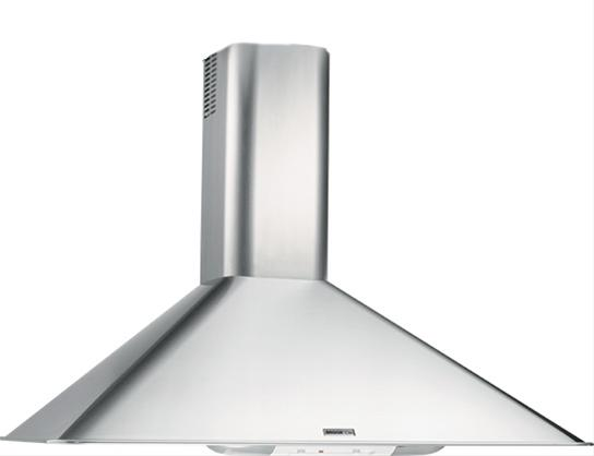 "Broan Broan 290 CFM, 30"" Wall-Mounted Chimney Hood in Stainless Steel"
