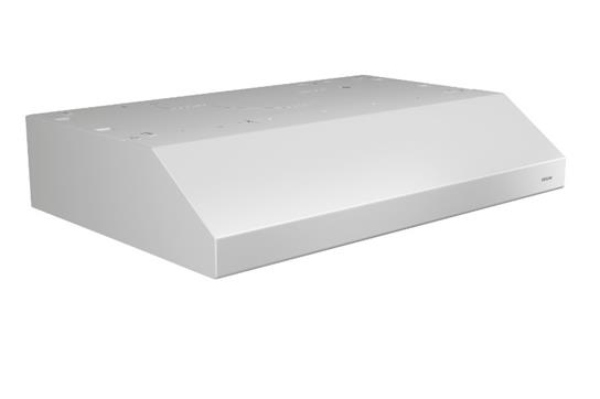 "Model: BCSEK130WW | Broan NEW - Glacier 30"" 250 CFM 1.5 Sones White Range Hood ENERGY STAR® certified"