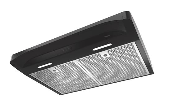 "Model: BQDD130BL | Broan NEW - Alta 30"" 300 CFM 1.2 Sones Black Range Hood"