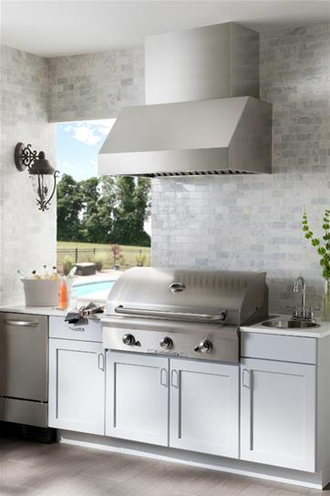 "Model: EPD6136SS | Broan 36"" Stainless Steel Pro-Style Outdoor Hood"