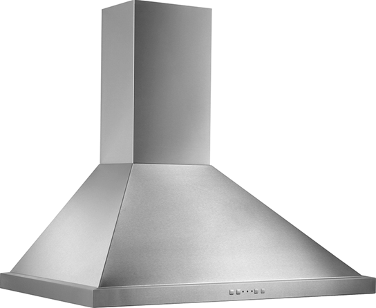 "Broan 36"" 500 CFM Stainless Steel Range Hood Traditional Canopy, Electronic Control"