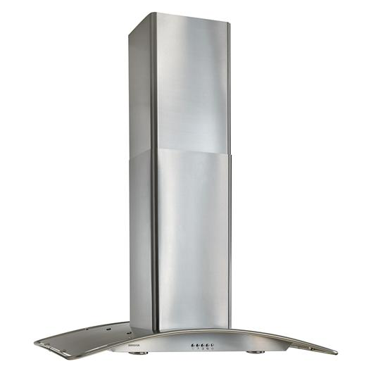 """Broan 36"""" Arched Stainless Steel, Island Hood"""