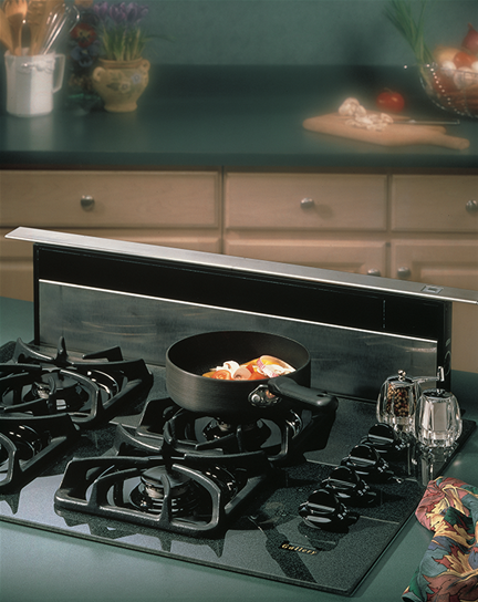 "Model: 283603 | Broan 36"", Stainless Steel, Downdraft, External Blower"