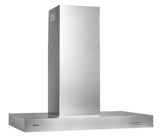 "Lowe's 450 CFM, 35-1/4"" wide Chimney Style Range Hood in Stainless Steel"