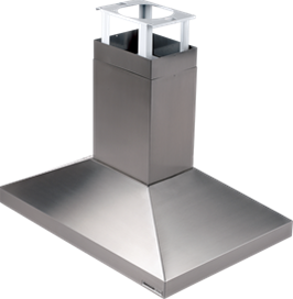 "Broan 63000 Series 900 CFM, 27-5/8"" x 39-3/8"" (70 cm x 100 cm) Island Chimney Mount Range Hood in Stainless Steel"