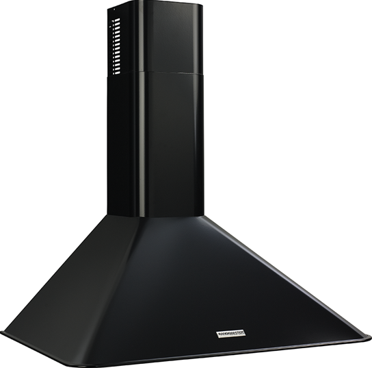 "Broan Broan 290 CFM, 30"" Wall-Mounted Chimney Hood in Black"