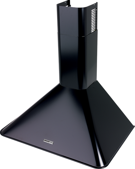 "Model: RM503023 | Broan Broan 290 CFM, 30"" Wall-Mounted Chimney Hood in Black"