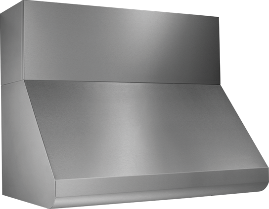 "Model: E60E42SS | Broan 42"" External Blower Stainless Steel Range Hood Shell"