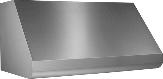 "Broan 48"" External Blower Stainless Steel Range Hood Shell"
