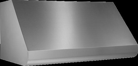 "Broan 48"" External Blower Stainless Steel Range Hood Shell"