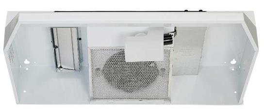 """Model: 463001   Broan 30"""" 220 CFM White Under Cabinet Range Hood"""