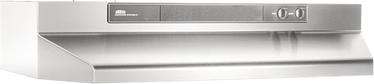 "Broan 36"" 220 CFM Stainless Steel Under Cabinet Range Hood"