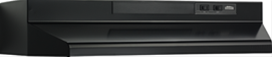 "Broan 24"" Convertible Range Hood, Black"