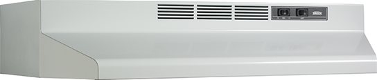 "Model: F404201 | Broan 42"" Convertible Range Hood, White"