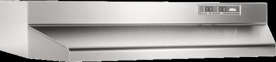 "Broan 30"", Stainless Steel, Under Cabinet Hood, 190 CFM"