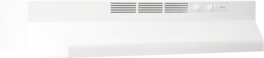 "Model: 412401 | Broan 24"", White, Under Cabinet Hood, Non-ducted"