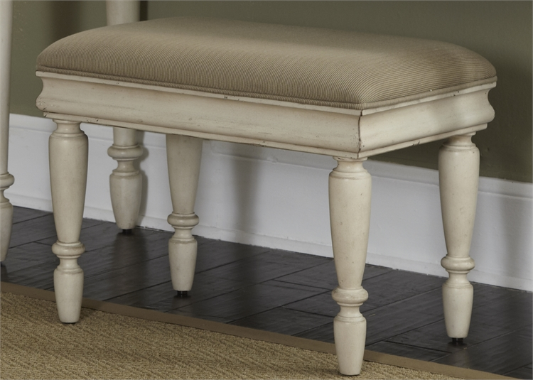 Model: 689-BR99 | Liberty Furniture Vanity Bench (RTA)