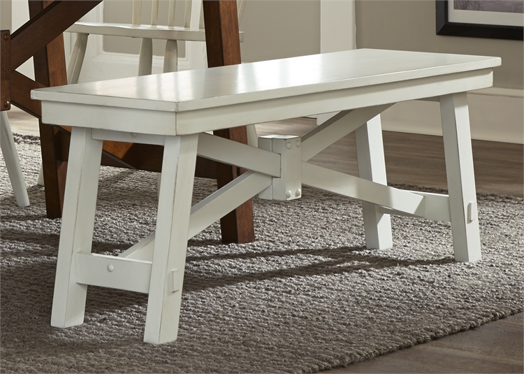 Liberty Furniture Bench - White