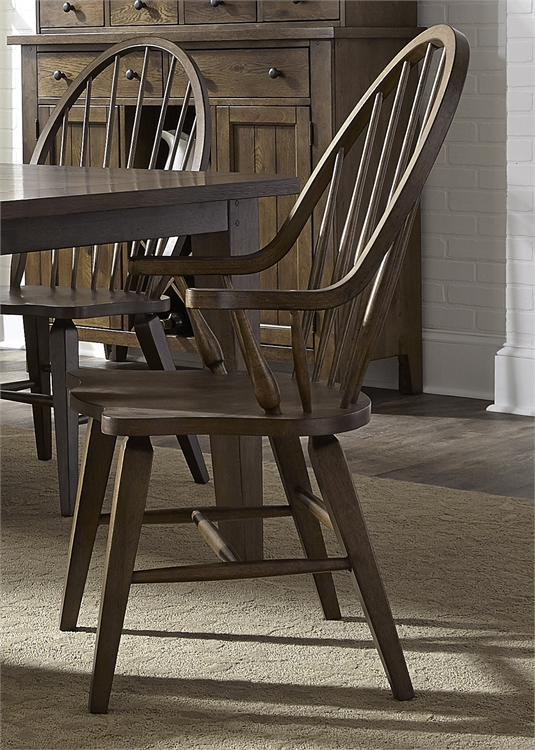 Liberty Furniture Windsor Back Arm Chair