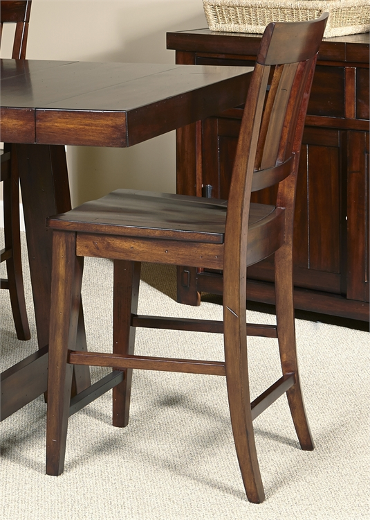 Liberty Furniture Slat Back Counter Chair (RTA)