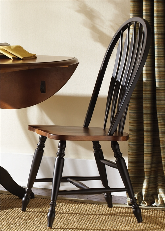 Model: 80-C1000S | Windsor Back Side Chair