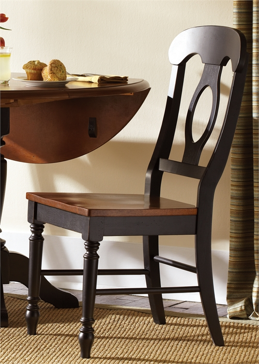 Liberty Furniture Napoleon Back Side Chair (RTA)