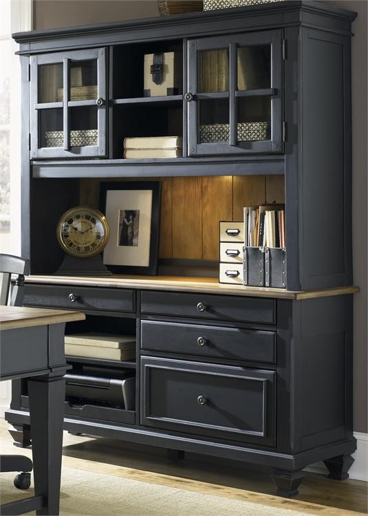 Liberty Furniture Jr Executive Credenza Hutch