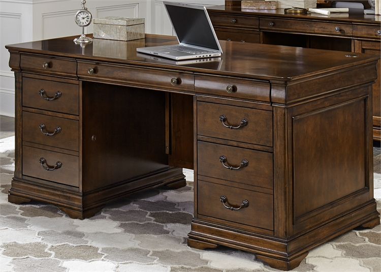 Liberty Furniture Jr Executive Desk Base