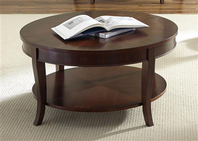 Liberty Furniture Round Cocktail Table
