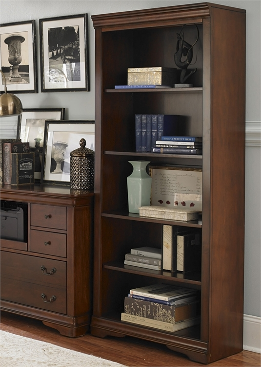Liberty Furniture Open Bookcase
