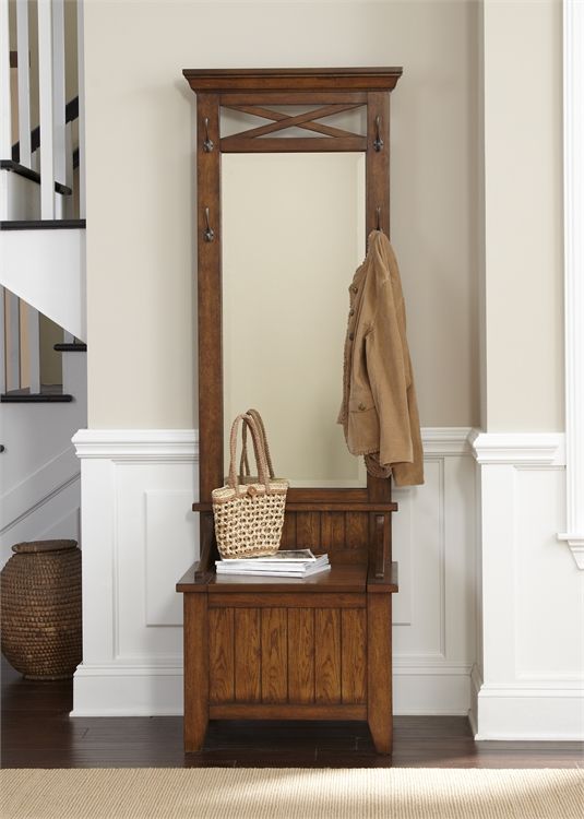 Liberty Furniture Hall Tree Mirror