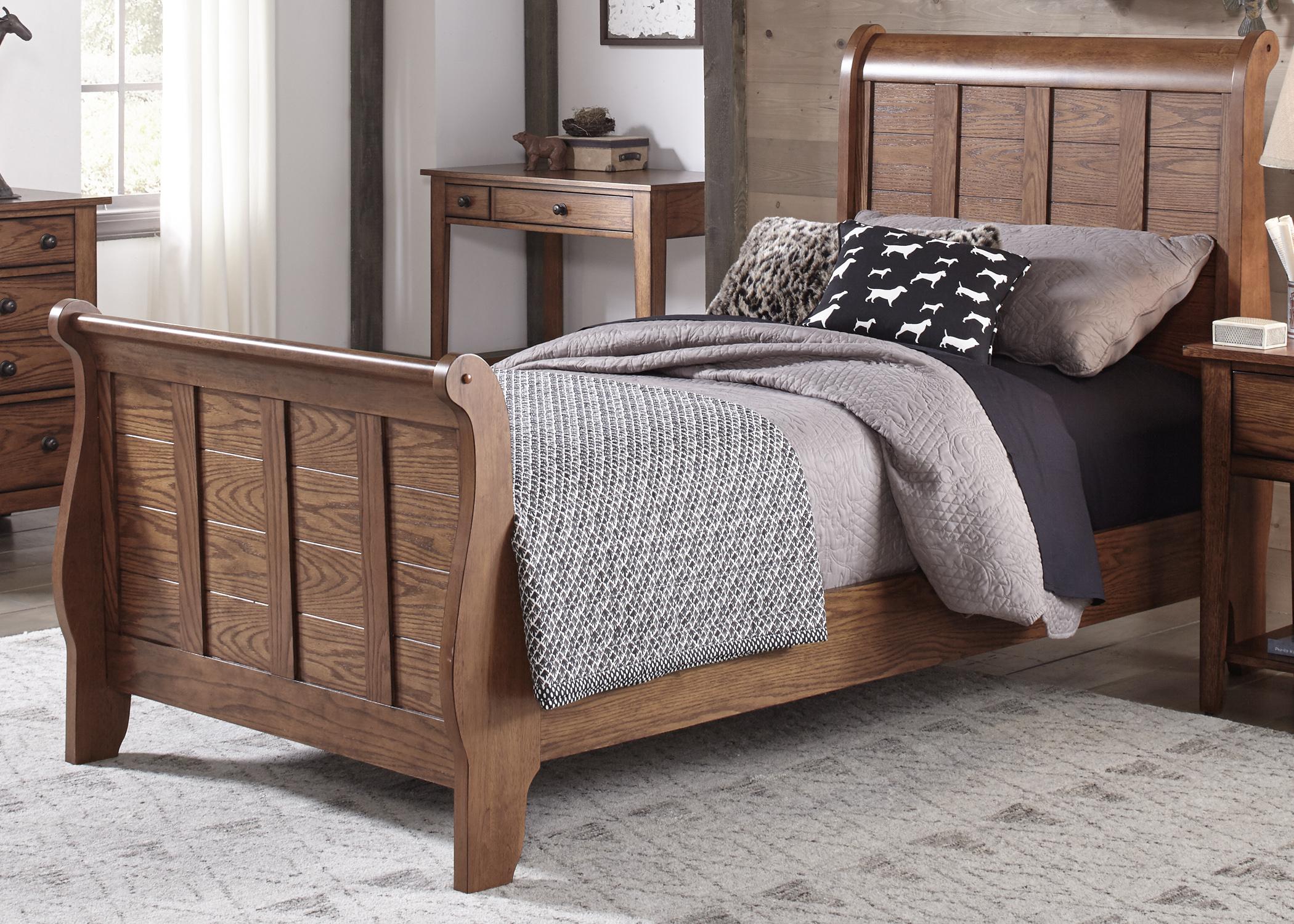 Liberty Furniture Full Sleigh HB & FB