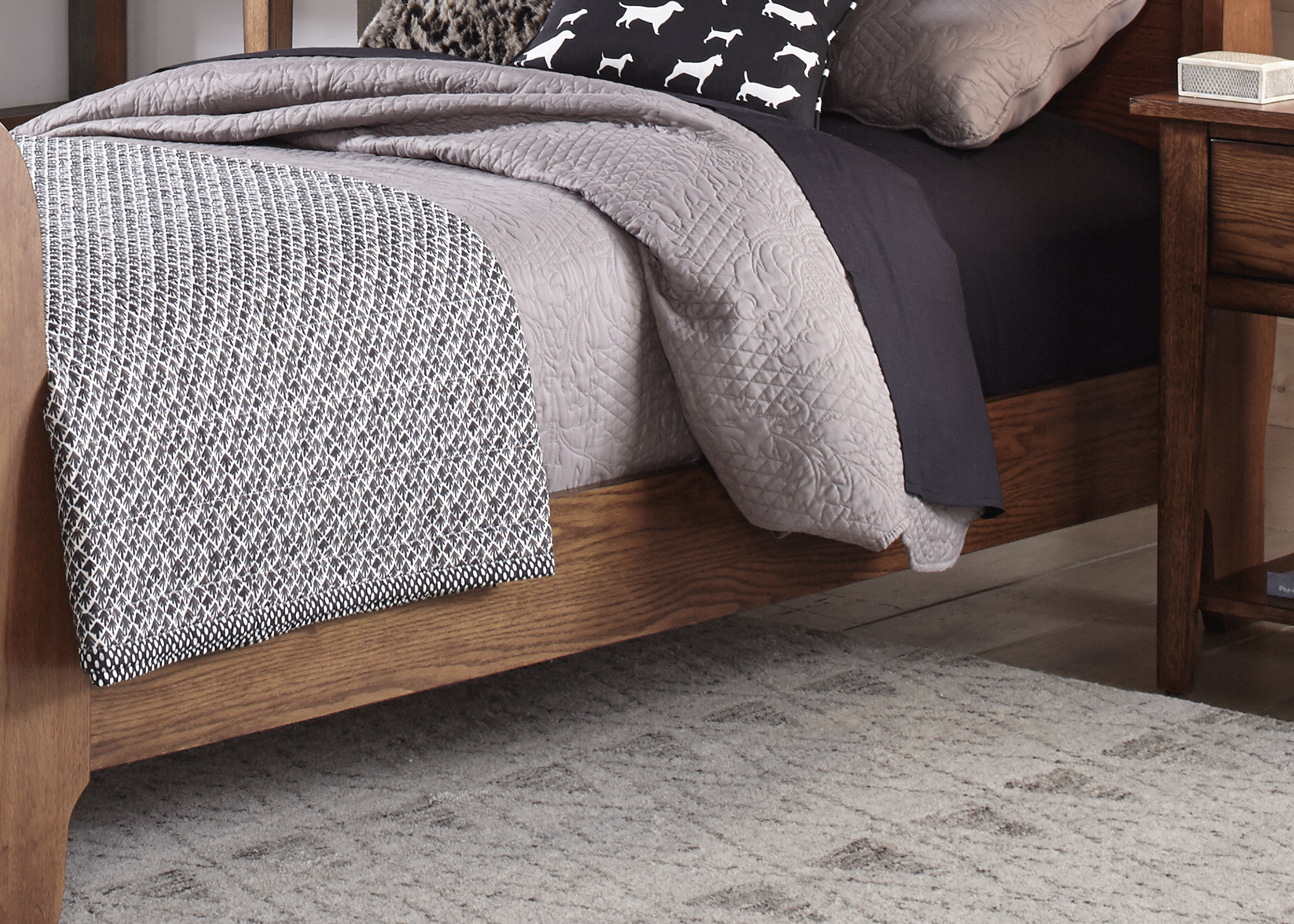 Liberty Furniture Full Sleigh Rails & Slats