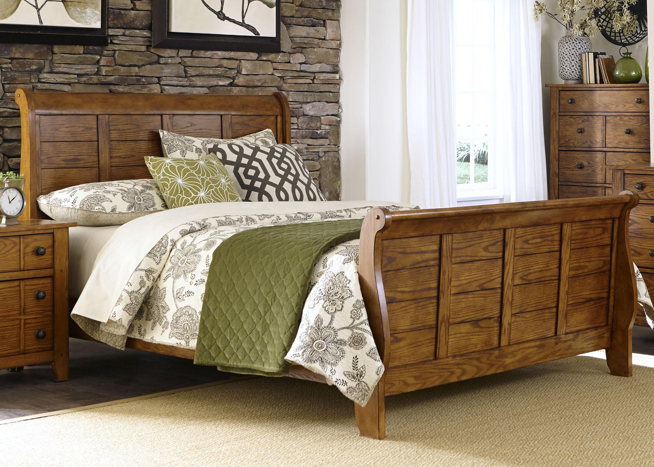 Liberty Furniture King Sleigh Rails