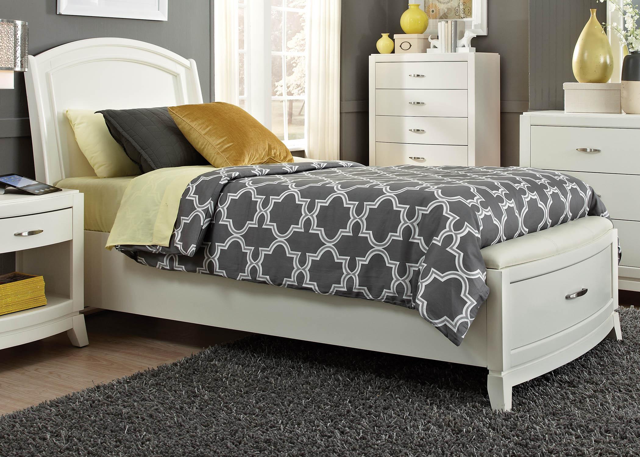 Liberty Furniture Full Storage Footboard & Slat Pack
